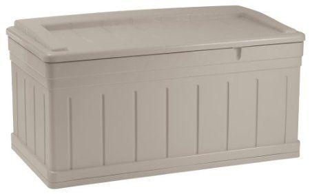 Suncast Db9750 Extended Deck Box Seat