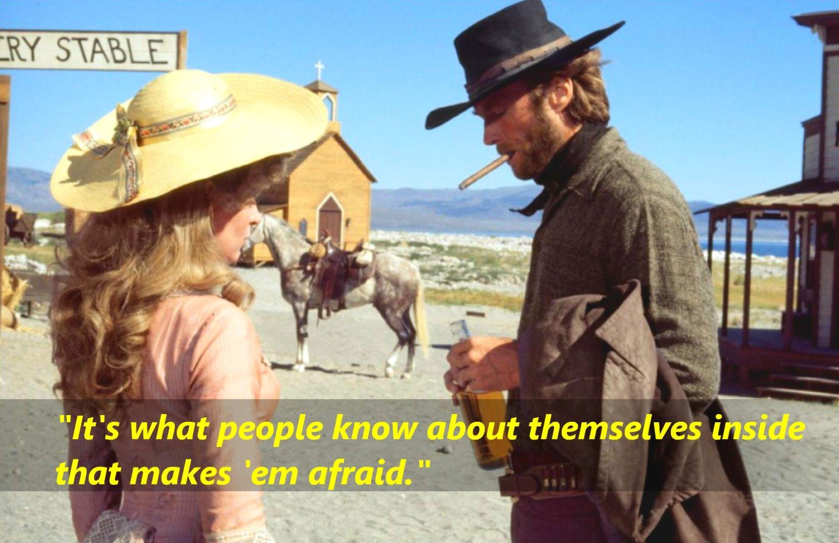 High Plains Drifter 1973 Clint Eastwood As The Stranger Https Www Facebook Com Quotes2reminisce High Plains Drifter Clint Clint Eastwood