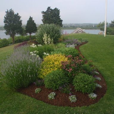 Island Flower Bed Design Ideas Pictures Remodel And Decor Full