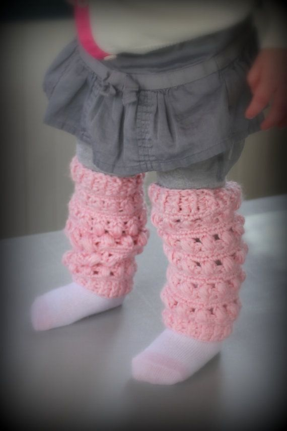 Crochet Leg Warmers, Baby Leg Warmers   Pinterest   Escarpines, Nena ...