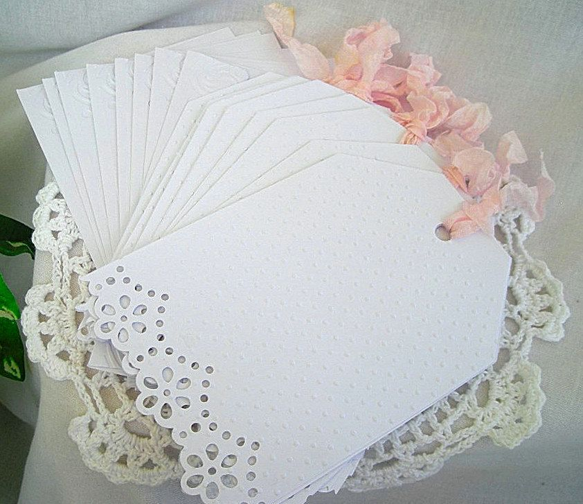 Vintage Handmade Cards With Doilies Request A Custom Order And