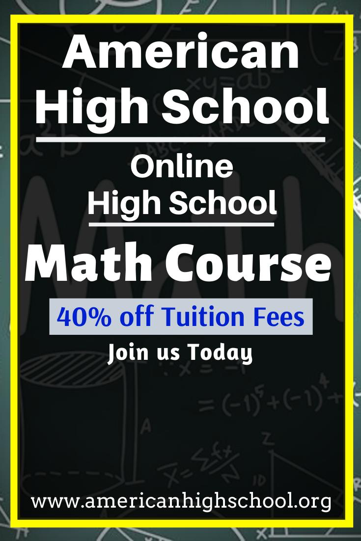 Online High School Math Course Online high school, High