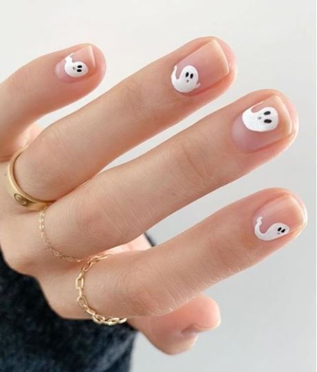 12 Halloween Inspired Nail Designs To Get You In S