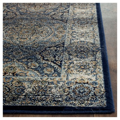 Barrie Area Rug Navy Ivory 6 7 X