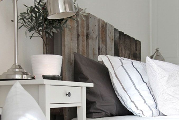 Testata Del Letto Con Bancali : Nina holst ha creato la testata del letto con dei vecchi bancali