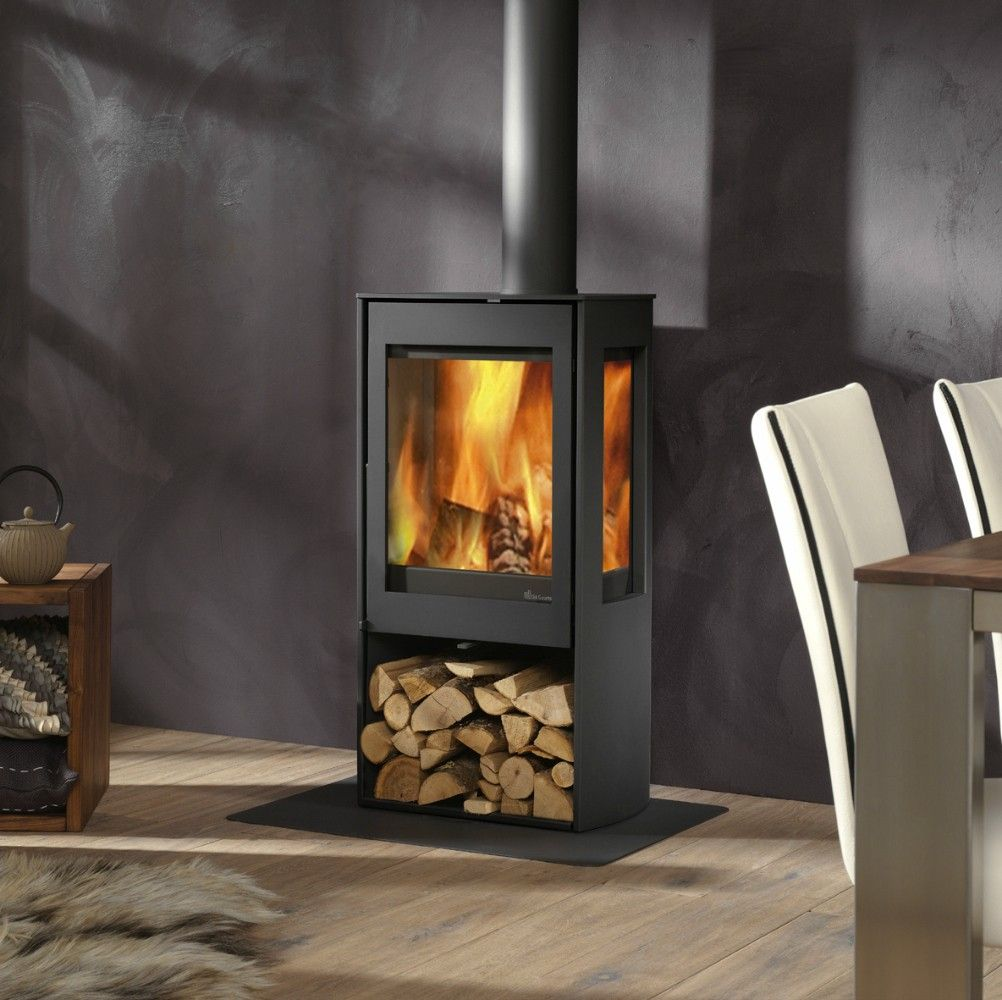 Kaminofen Caminos Montana The Kalle Is A Functional Freestanding Wood Stove Which Has A