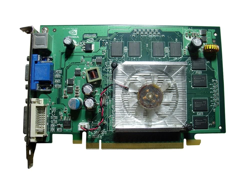 Nvidia GeForce 8400 GS 512MB 64-Bit DDR2 PCI HDCP Ready Video Graphics Card Mfr P/N 180-10403-0000-B00