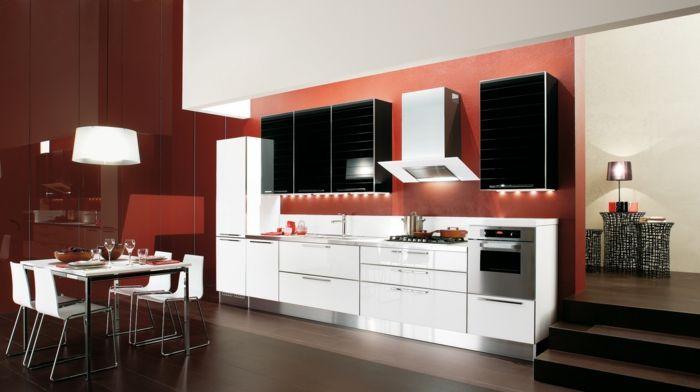 moderne küchen in warmen farbtönen | Farben – neue Trends und ...