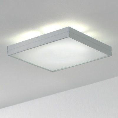 Zaneen Lighting 14 5 W Linea 1 Light Flush Mount Size Medium