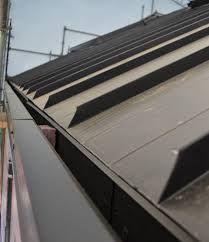 Hidden Gutter Detail Standing Seam Metal Roof Zinc Roof Standing Seam