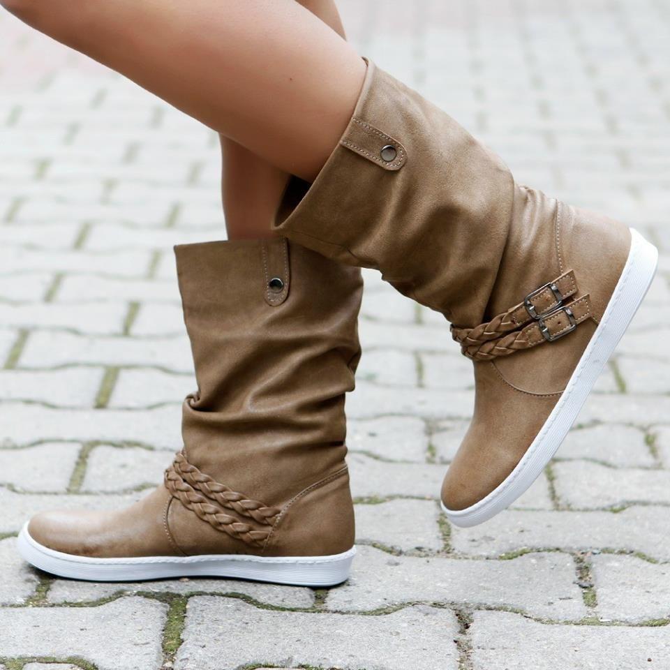 Yarim Bayan Cizme Modelleri Bot Cizmeler Ayakkabilar