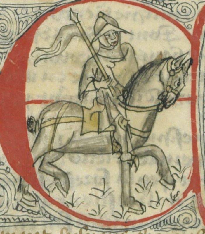 14th century helmet helmets manuscript bnf arsenal