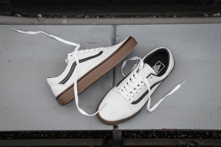 5cda68d772b676 VANS raw rubber SKF white low to shoes men and women casual shoes  VN0A38G1MW Model LC08  Vans