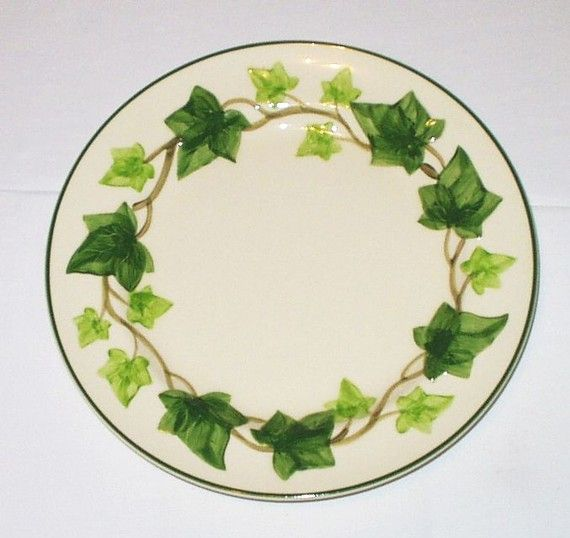ivy dinnerware | Franciscan China American Ivy Vintage 10.5 inch Dinner Serving Plate .  sc 1 st  Pinterest & ivy dinnerware | Franciscan China American Ivy Vintage 10.5 inch ...