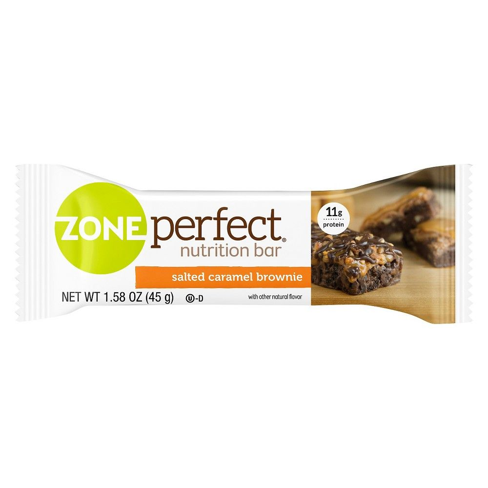 ZonePerfect Salted Caramel Brownie Nutrition Bar - 1 Count