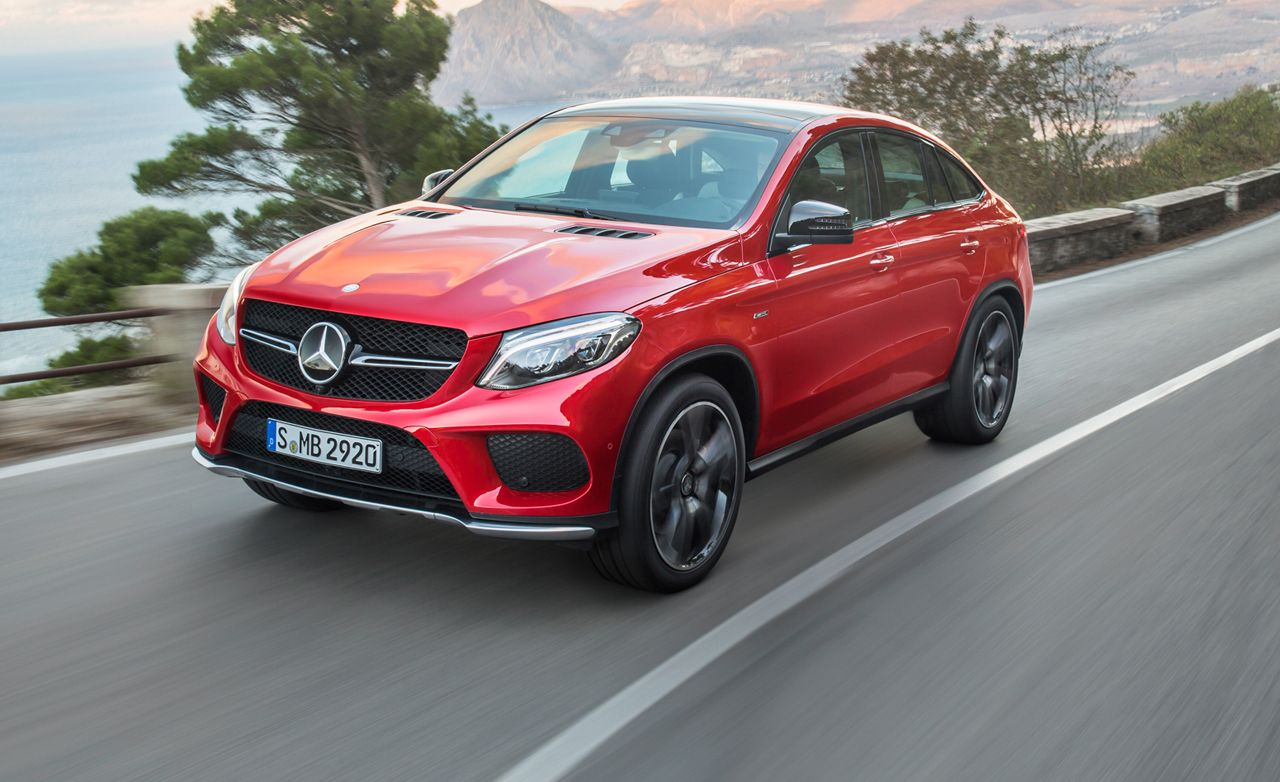 2016 mercedes benz gle class coupe the bmw finally has competition official photos and info