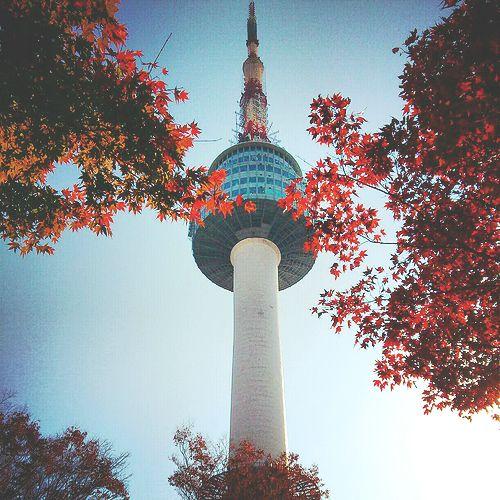 Seoul Hot Spots N Seoul Tower Menara Fantasi