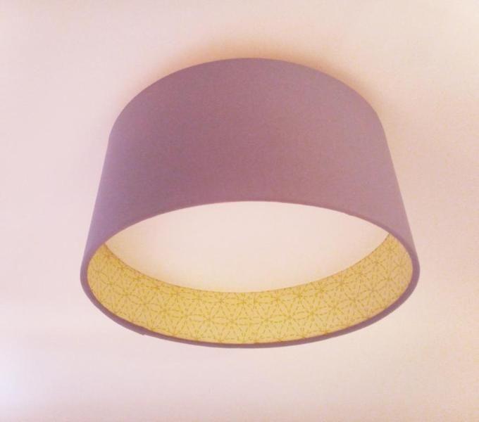 Deckenleuchte 30 cm 2side Muster von Lampenschirm Lichthaus auf DaWanda.com