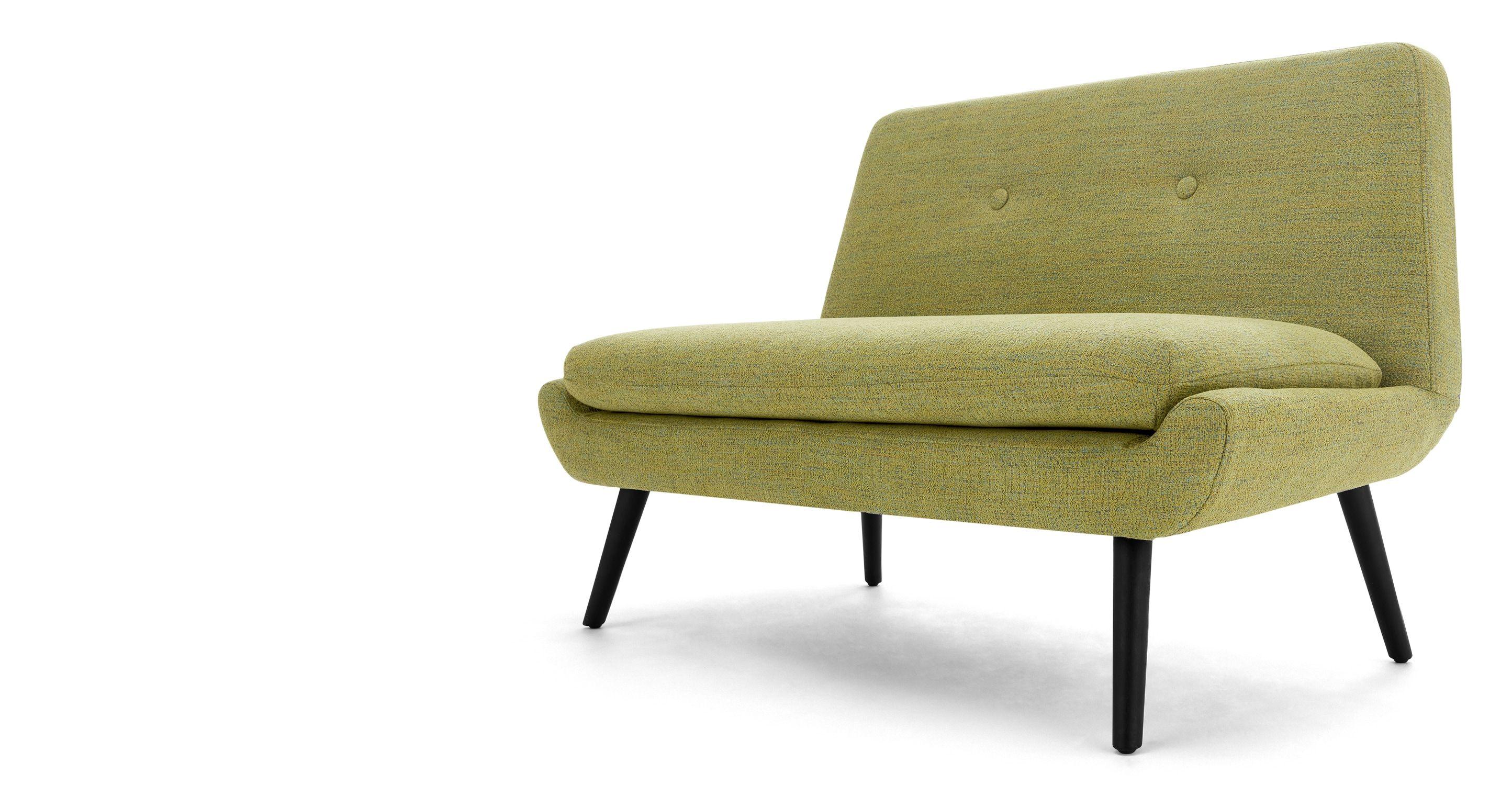modern 2 Sitzer Sofas Jonny 2 Sitzer Sofa Vintage Olivgrün