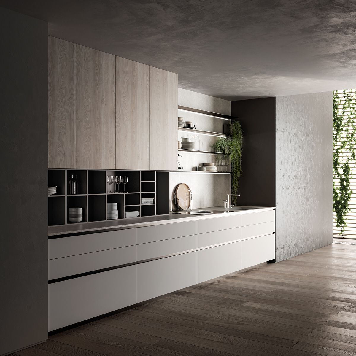 9 Design Kitchen Set That You Can Try in Your Home - toboto.net