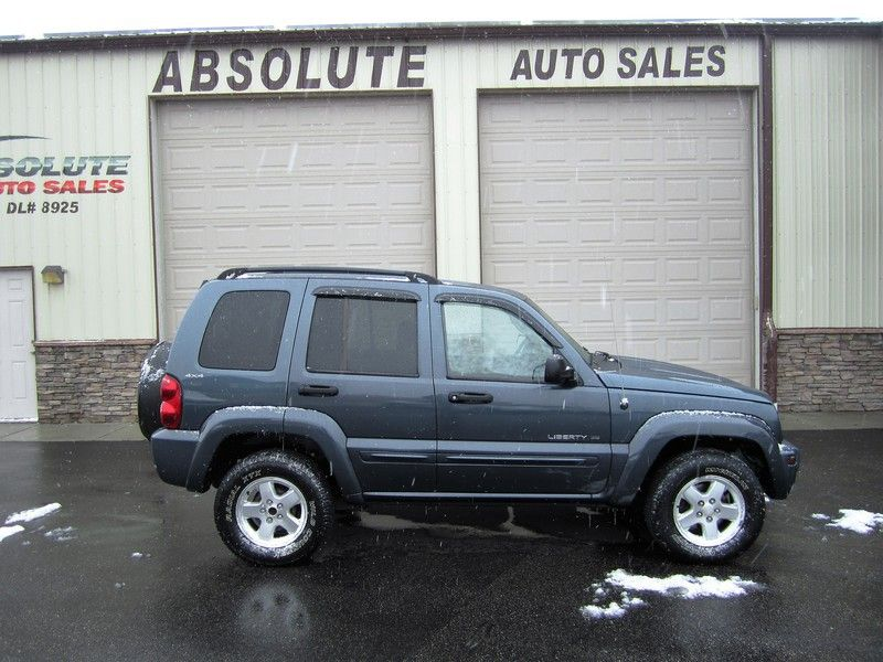 2002 Jeep Liberty Limited 3,995 Jeep liberty