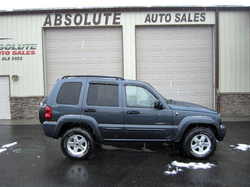 2002 Jeep Liberty Limited 3,995 Jeep liberty