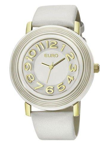 62bbd03f5e7 Euro Albi EU2035RA 2B - Branco Marcas De Relogio
