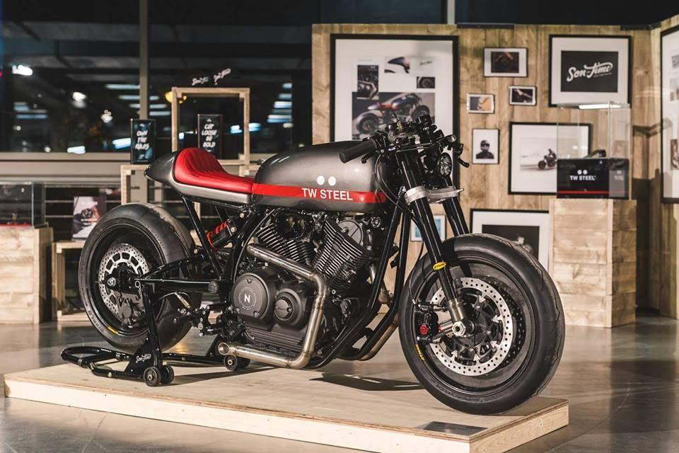 Yamaha Bolt XV950 by Numbnut Motorcycles, from Bike Shed Paris 2016 | Photo by Mihail Jershov.jpg (960×640)