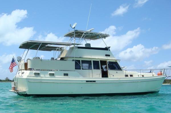 Used 1975 Gulfstar 53' Trawler, Micco, Fl - 32963