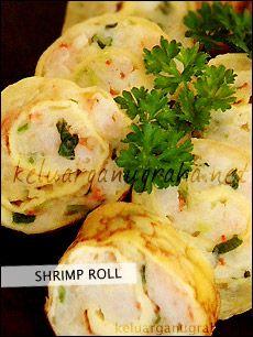 Shrimp Roll - Koleksi Resep Keluarga Nugraha - Australia