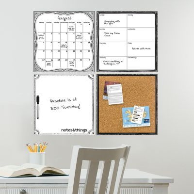 Monthly Calendar Weekly Planner Memo Board And Corkboard Stick