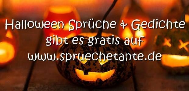 Halloween SprГјche Zum Aufsagen