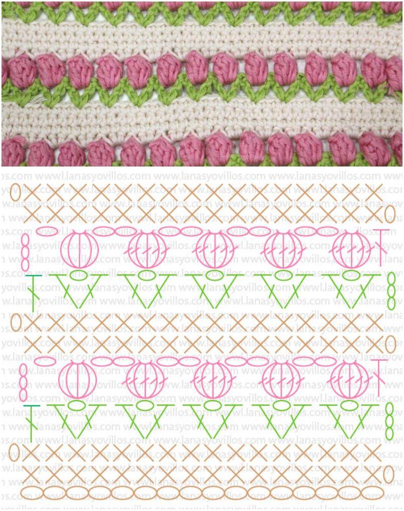 Crochet Tulip with Free Pattern | Crochet | Pinterest | Free crochet ...