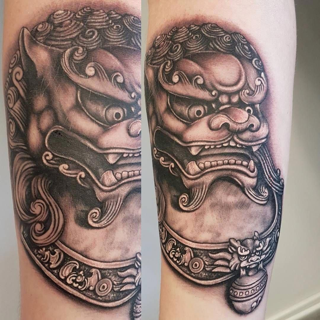 Japanese Tattoos And Meanings Japanesetattoos Foo Dog Tattoo Foo Dog Tattoo Design Foo Dog Tattoo Meaning