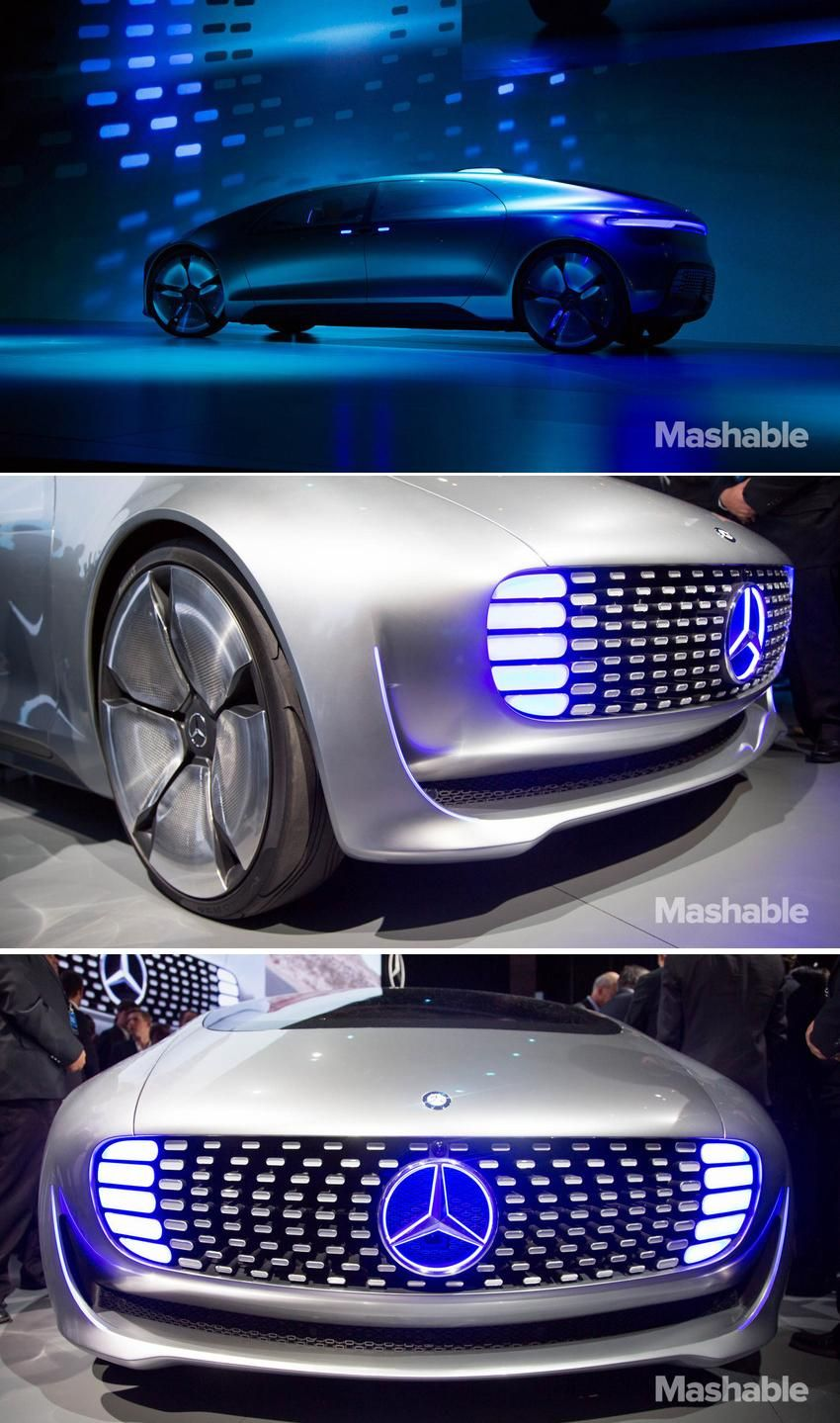 Mercedes Benz Self Driving Concept Car Spotted On San Francisco Roads With Images Concept Cars Dream Cars Mercedes