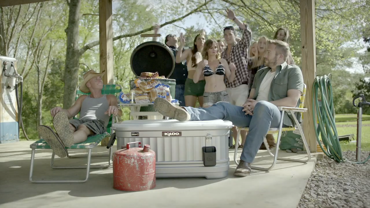 Country Singer Logan Mize Featured The LiddUp Igloo Party Bar In His Music Video For