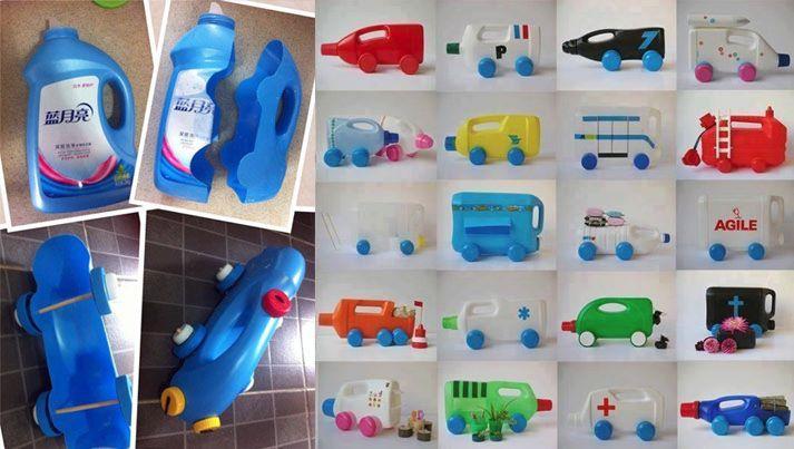 9 Ide Kreatif Membuat Mainan Anak Dari Barang Bekas Do It