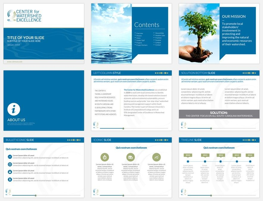 Design a memorable, modern PowerPoint template for eLearning - it powerpoint template