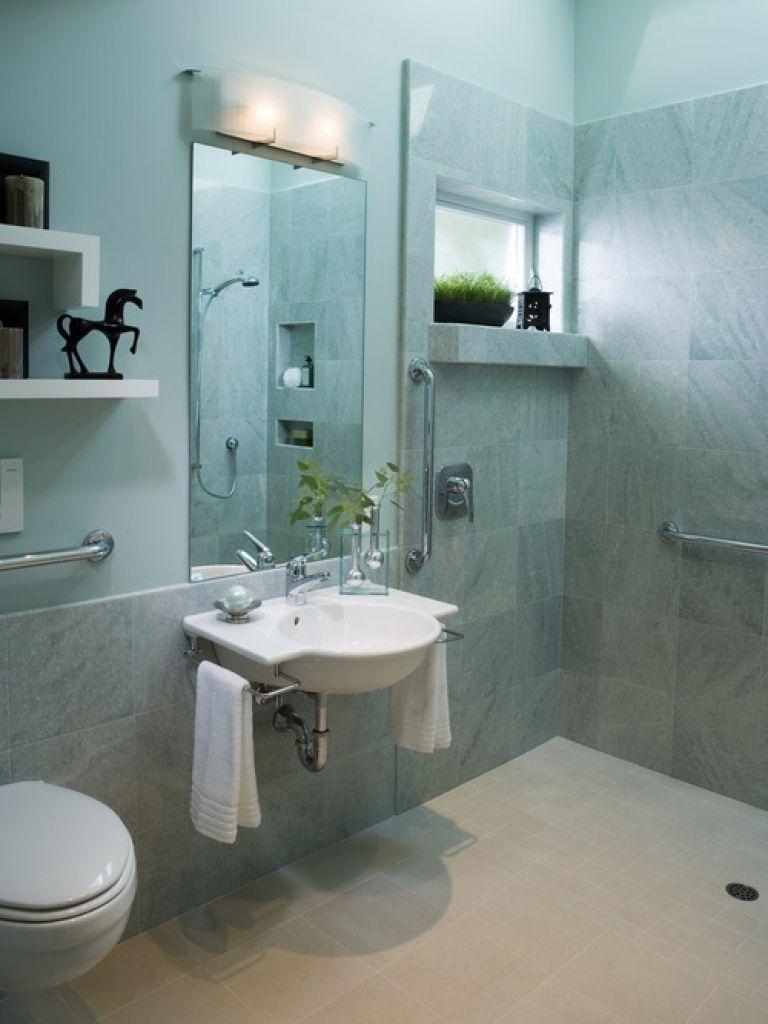 Barrierefreie Badgestaltung Kleine badezimmer design