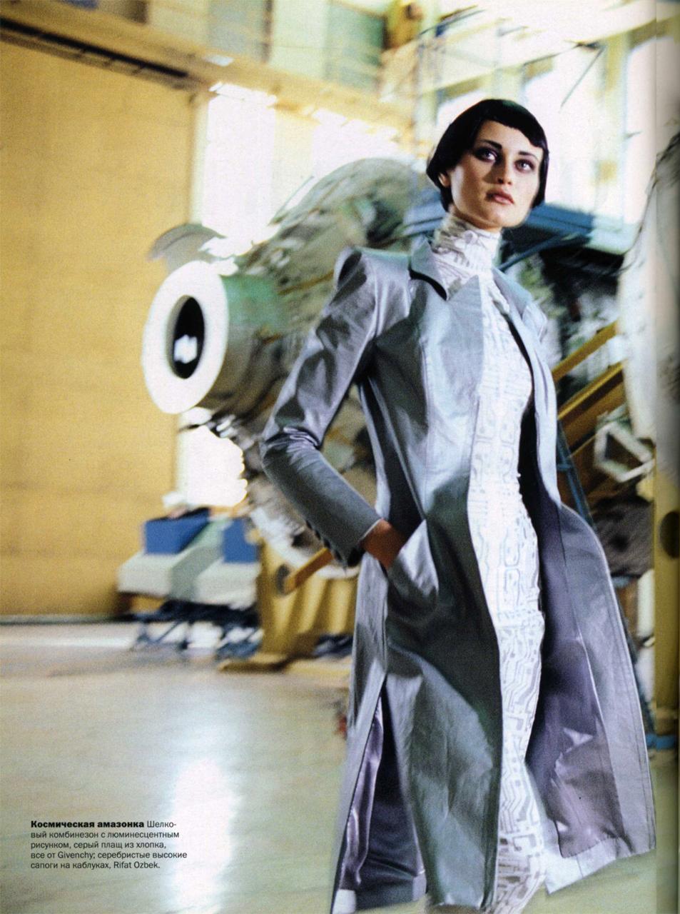 Natalia Semanova by Arthur Elgort for Vogue Russia, December 20 ...