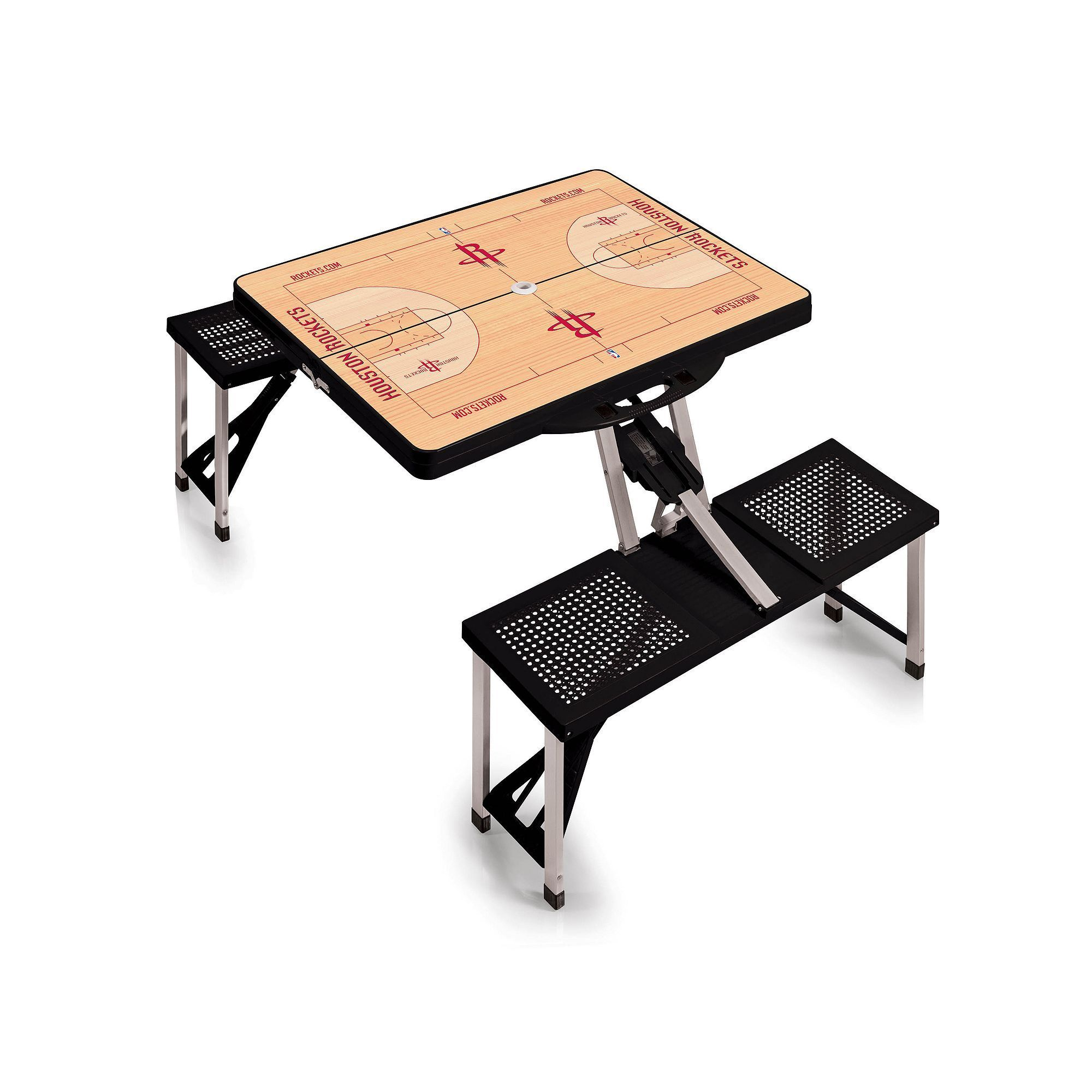 Picnic Time Outdoor Houston Rockets Portable Folding Picnic Table