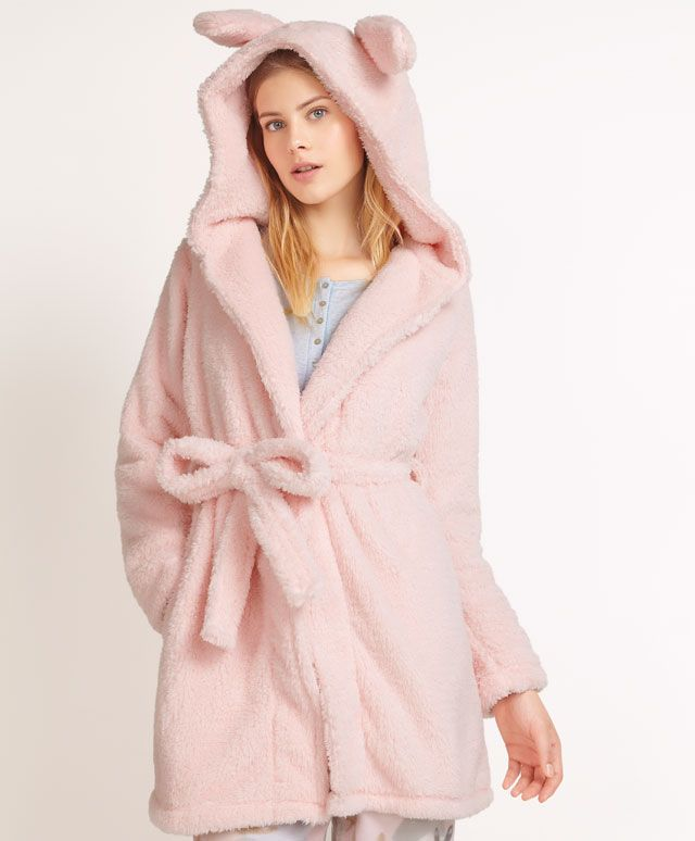f1be32b9e7e1c Bunny dressing gown - OYSHO