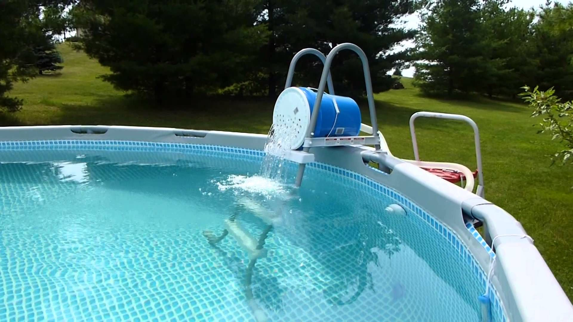 Intex Pool Pump Youtube How To Get Iron Out Of Pool Water Effective And Cheap Intex Pool