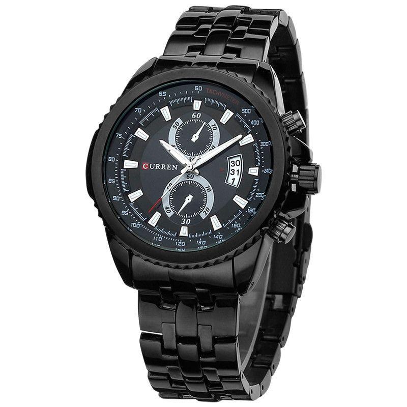 Curren Watch Men Casual Dress Wristwatch Curren 8082 Date Display Analog Relojes