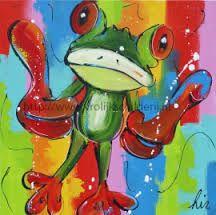 schilderij kikker - Google zoeken