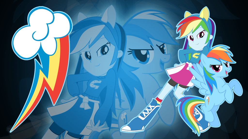Rainbow Dash Eqg Wallpaper By Jerimin19 Deviantart Com On