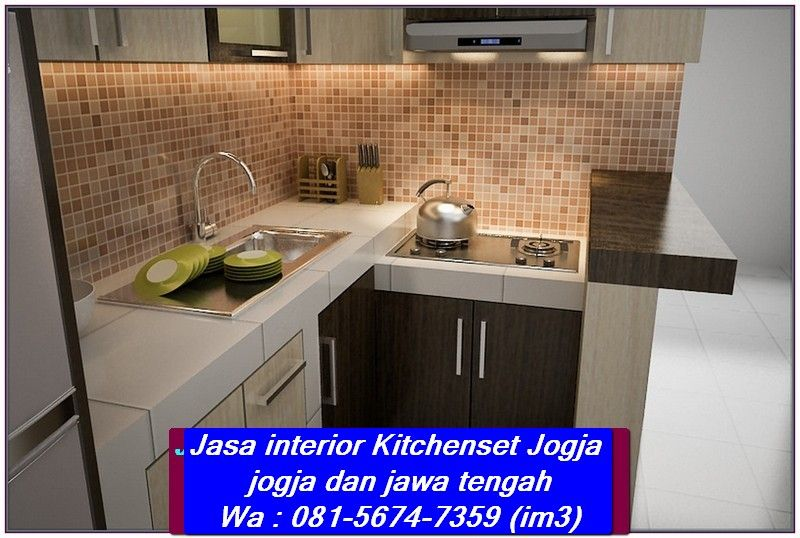 Pin Oleh Interior Jogja Di 081 5674 7359 Im3 Jasa Kitchenset