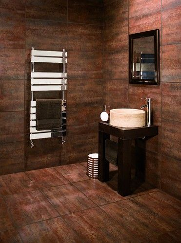 Metalik Wall And Floor Tile For Bathroom From Topps Tiles