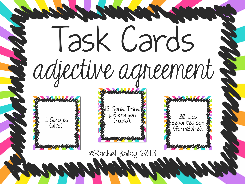 Task Card Set