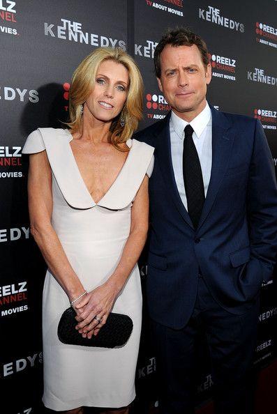 greg kinnear  helen labdon  Married Movie  TV Stars